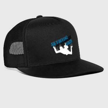 skydiving - Trucker Cap
