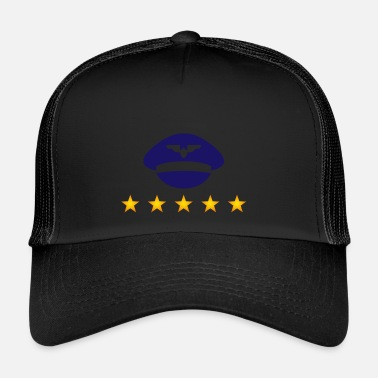 Uniform De Hoed Van Een Piloot In Uniform - Trucker Cap