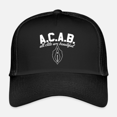 Acab ACAB - All Clits Are Beautiful - Trucker Cap