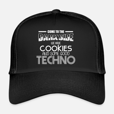 Darkside Darkside Techno Cookies Rave EDM Idea de regalo - Gorra de camionero