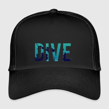 Dive Diving / Diving: Dive - Trucker Cap