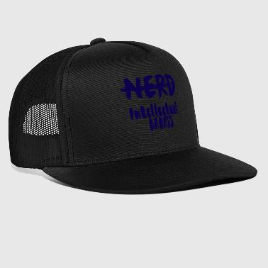 Nerd / Nerds: Nerd - Intellectual Badass - Trucker Cap