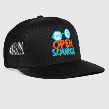Je suis open source - Trucker Cap