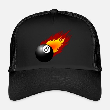 Billiard Ball billiard ball - Trucker Cap