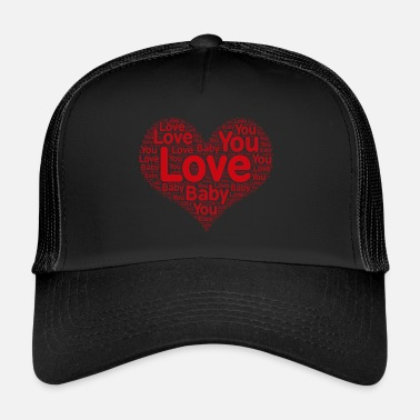 Shape I Love You Shape - Trucker Cap