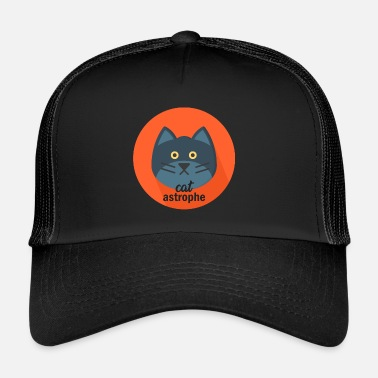 Officialbrands A real Catastrophe Cat T-Shirt - Trucker Cap