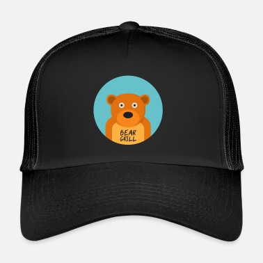 Officialbrands Bear Grill T-paita - Trucker Cap