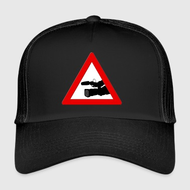 Caméraman cameraman Attention! - Trucker Cap