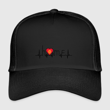 i love home Kirgisistan - Trucker Cap