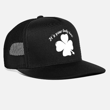 New Year's Day Shamrock, Lucky Day, New Year, New Year's Eve - Trucker Cap