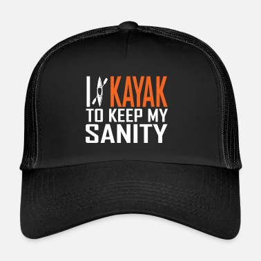 Kayak Ho in kayak - Trucker Cap