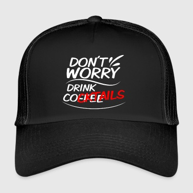 Cocktail cocktail café - Trucker Cap