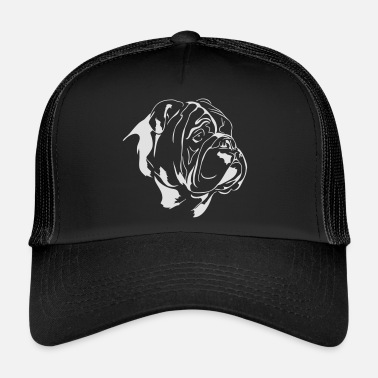 3751cc6ebed ENGLISH BULLDOG - ENGLISH BULLDOG - Trucker Cap