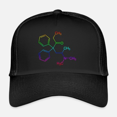 Techno Methadone structural formula - Trucker Cap