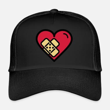 Plasters Heart with plaster - Trucker Cap