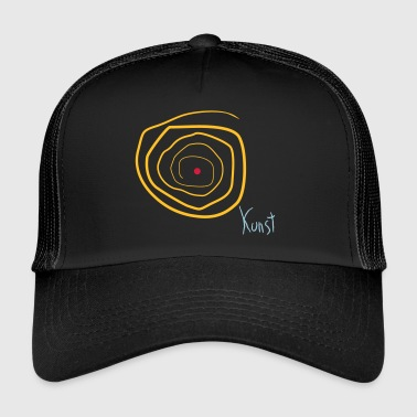 Taidemaalaus Taidemaalaus Irony Satire Drawing Godigart - Trucker Cap