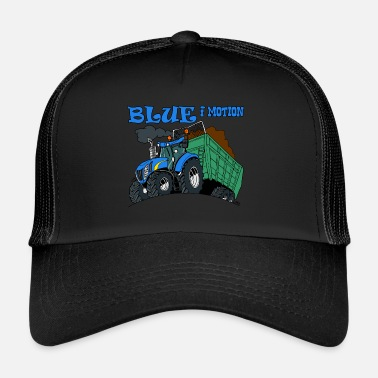 Motion Blue in motion - Trucker Cap