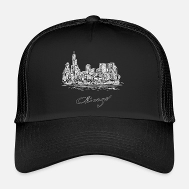 Estados Unidos Chicago City - Estados Unidos - Gorra de camionero