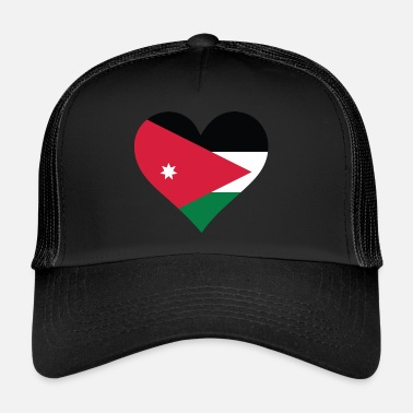 Amman A Heart For Jordan - Trucker Cap