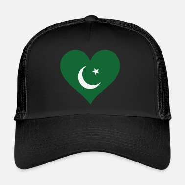Karachi A Heart For Pakistan - Trucker Cap