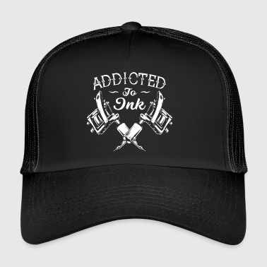 Addicted To Ink Tattoos Tattooed - Trucker Cap