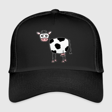 Udder Funny cow with udder - Trucker Cap