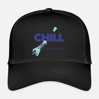 Chiller champagne week-end Chill - Trucker Cap