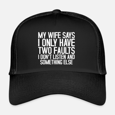 Husband husband - Trucker Cap