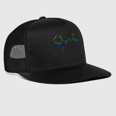 DMT Dimethyltryptamin Strukturformel - Trucker Cap