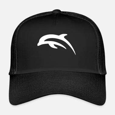 0665e77bc88 Kala White dolphin t shirt - Trucker Cap