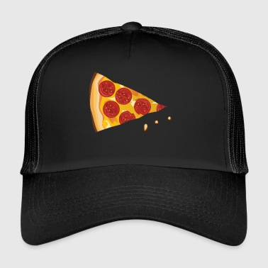 Pizza fast food ser salami pizzeria kaese - Trucker Cap