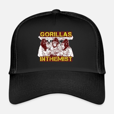 Mist GORILLAS IN THE MIST - Trucker Cap