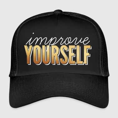Review Review / Improve Yourself - Trucker Cap