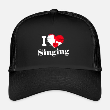 Chant J'aime chanter / chanter / chanter - Trucker Cap