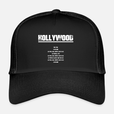 Hollywood Hollywood - Gorra de camionero