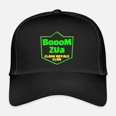Clash Of Clans BoooM Zua Clash Royale Clan - Trucker Cap