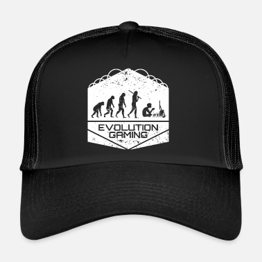 Video Video Games Evolution - Trucker Cap