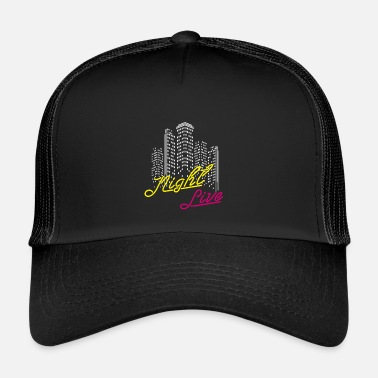 Saturday Night Live night live, club, musique, disco - Trucker Cap
