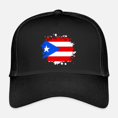 Puerto Rico Puerto Rico blob   regalo San Juan Caribe - Gorra trucker bb90fda72e6