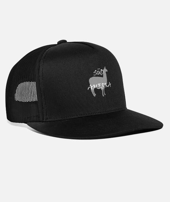 South America Caps & Hats - South America - Trucker Cap black/black