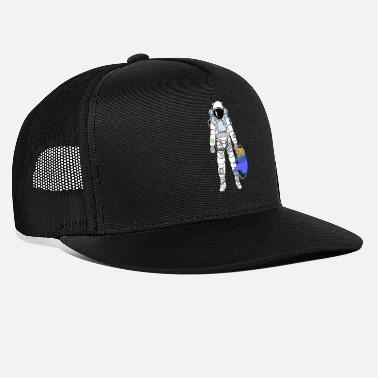 Astronaut Astronaut with astronaut cat - Trucker Cap