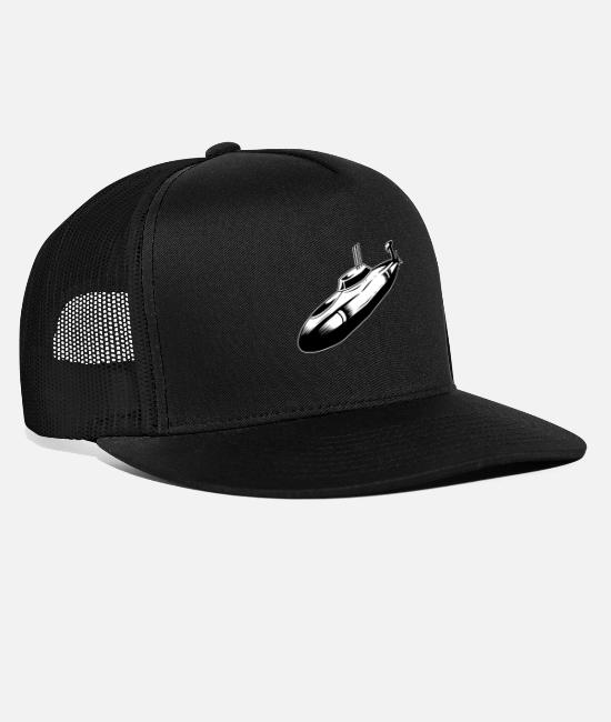 Occupation Caps & Hats - Military army soldier military vehicles - Trucker Cap black/black