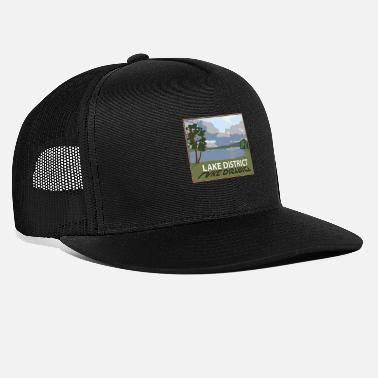 Lake District windermere in the lakes Cumbria - Trucker Cap