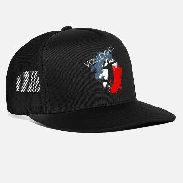 Volley-ball volley-ball, volley-ball - Casquette trucker
