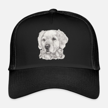 Golden Golden retriever - Trucker Cap