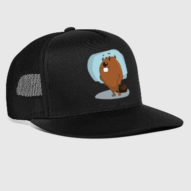 animal animaux rongeur rongeurs water6 bois - Trucker Cap