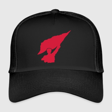 Lippu Rebel lippukuvakkeen - Trucker Cap
