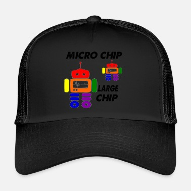 Chip micro chip large chip - Trucker Cap