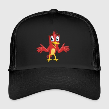 Herman the red bird - Trucker Cap