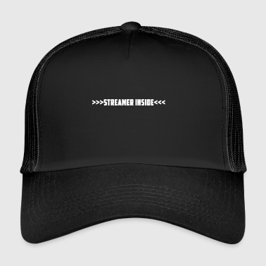 Streamer Inside - pokaż, co robisz - Trucker Cap